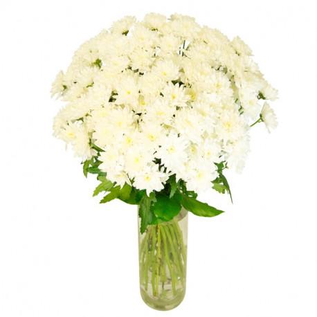 Brassee De Fleurs Blanches En Livraison Toute France