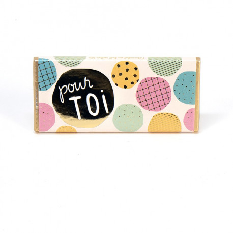 Tablette de chocolat pour toi