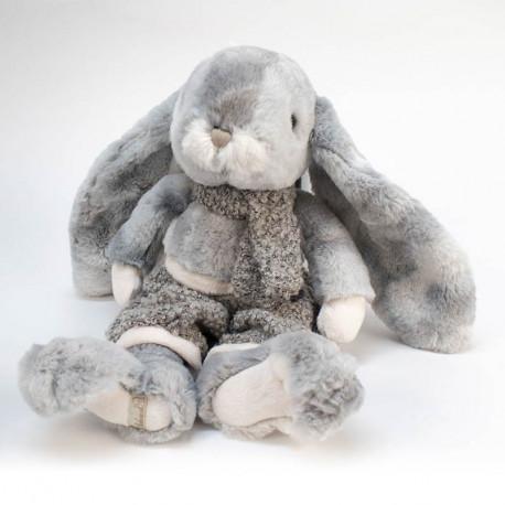 Lapin en peluche gris - Bukowski