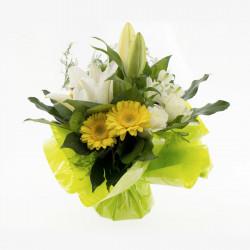 Bouquet Rond Journée ensoleillée
