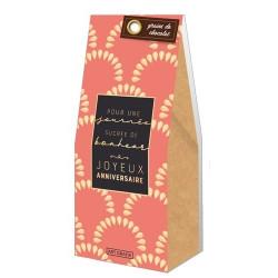 Grains de chocolat Anniversaire