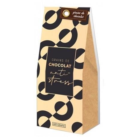 Grains de chocolat message humoristique