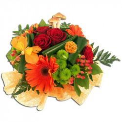 Bouquet Rond Envolée florale