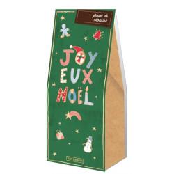 Grains de chocolat Joyeux Noël