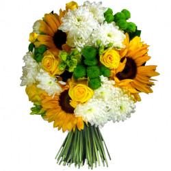 Brassée de fleurs d'été