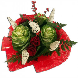 Bouquet Rond Noel