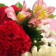 Bouquet rond Merci Maîtresse
