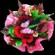 Bouquet rond chaleur d'automne