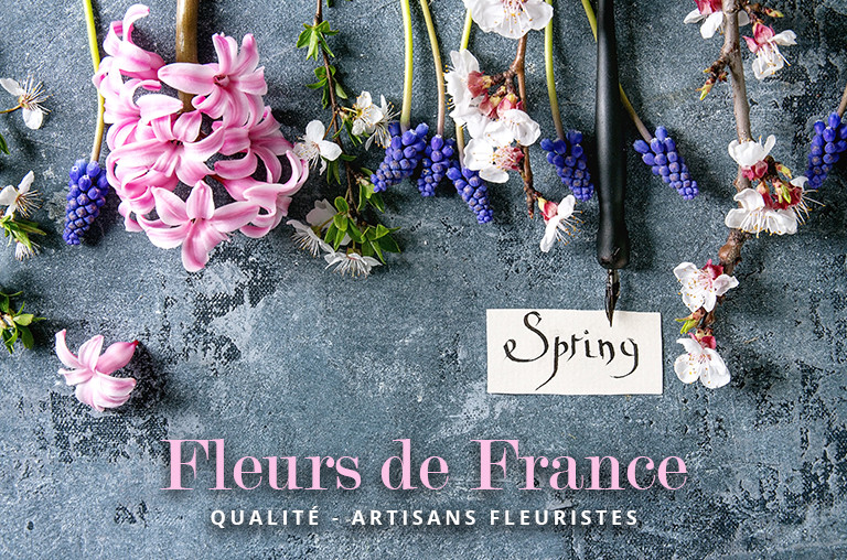 Nos fleurs sont cultivées dans le Var en France