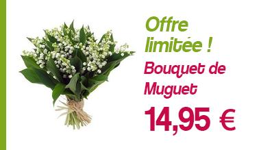 Bouquet de Muguet à 14,95 €
